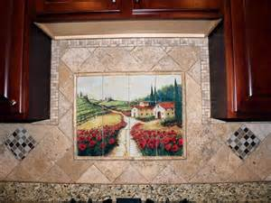 Wall Murals For Kitchen Kitchen Backsplash Ideas