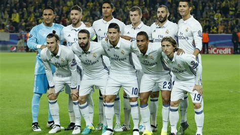 real madrid squad   starting eleven players