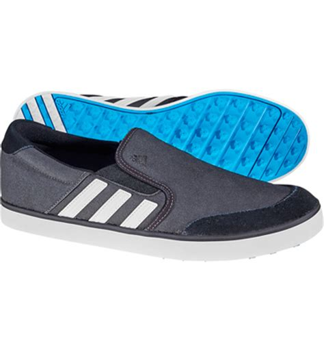 adidas s adicross sl spikeless golf shoes black white solar blue