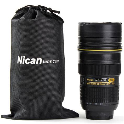Nikon Lens Cup 24 700mm 1 nikon style 24 70 mm lens mug stainless steel coffee cup snapknot shop
