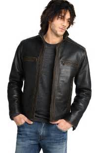 Leather Jacket Mens Look Stylish In Trendy Men S Leather Jackets Leather