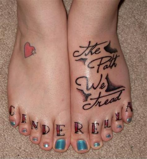 heart tattoo on foot tattoo collections
