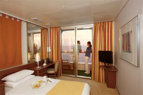 Pacific Balcony Cabin by Pacific Cruise Ship Facilities P O Cruises