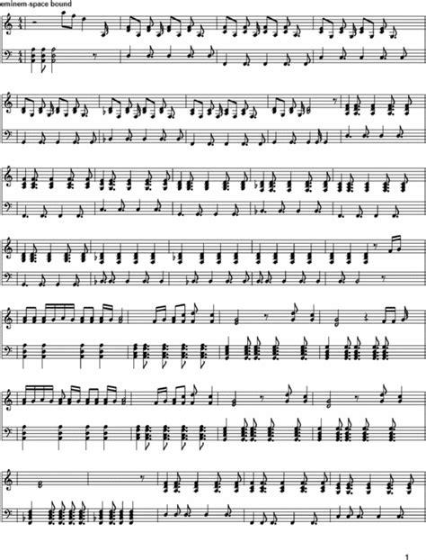 the real slim shady testo eminem space bound spartiti descargar partituras