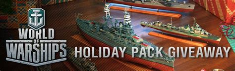 Mmohut Giveaway - world of warships holiday pack 2016 giveaway mmohuts