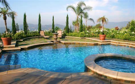 mediterranean pools los angeles mediterranean custom swimming pool and spa