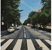 Abbey Road Empty On My Easel The Art Of David Fisher