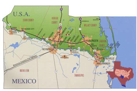 grande valley texas map musica mexico