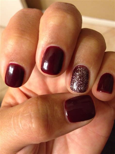 7 hot nail colors for fall real simple 1000 images about nails on pinterest cnd shellac