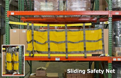 Racking Nets by Pallet Rack Safety Nets Straps Sjf