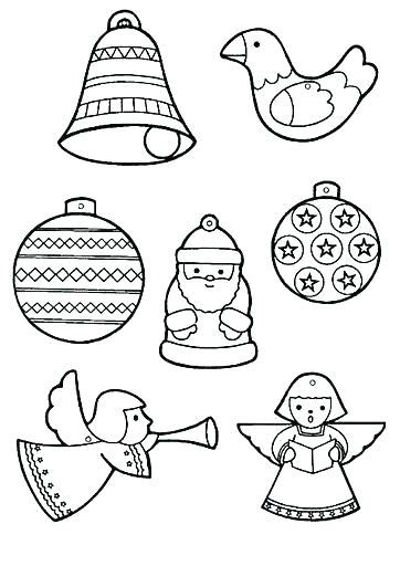 christmas ornament tree to color ornament outline pattern ornament outlines tactac co