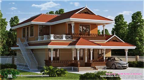 Beautiful House 2466 Sq Ft Beautiful Kerala House Design Home Kerala Plans