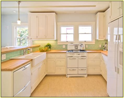 Best Tile For Backsplash In Kitchen light green subway tile backsplash home design ideas green
