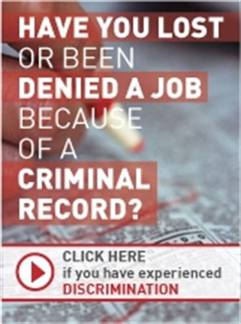 Discrimination In Employment On The Basis Of Criminal Record Employment Discrimination Against With Criminal