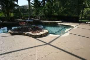 building  perfect concrete pool deck sundek concrete