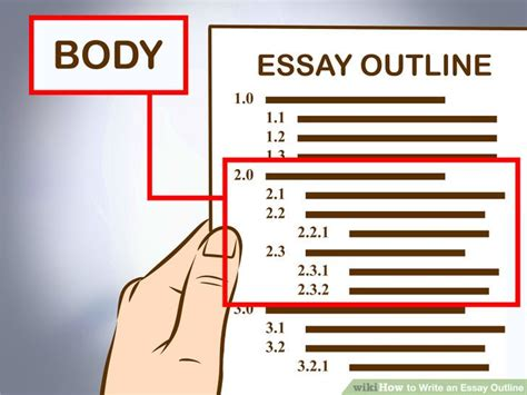 Creating Essay Outline by Creating An Essay Outline How To Structure Your Paper