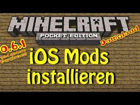 mods in minecraft ios ios minecraft pe wie man mods installiert download fly