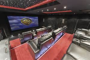 Convert Garage To Bedroom the real cost of george and amal clooney s home cinema in