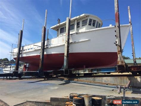 timber fishing boat for sale australia wooden boat timber boat ex trawler for sale in australia