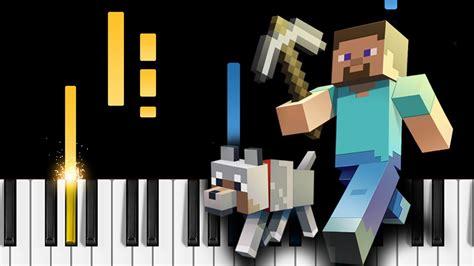 tutorial piano minecraft minecraft theme piano tutorial chords chordify