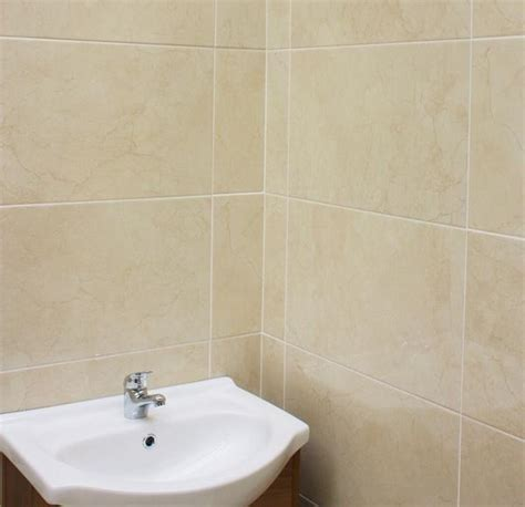 Cream Wall Tiles with a Beautiful Marble Effect
