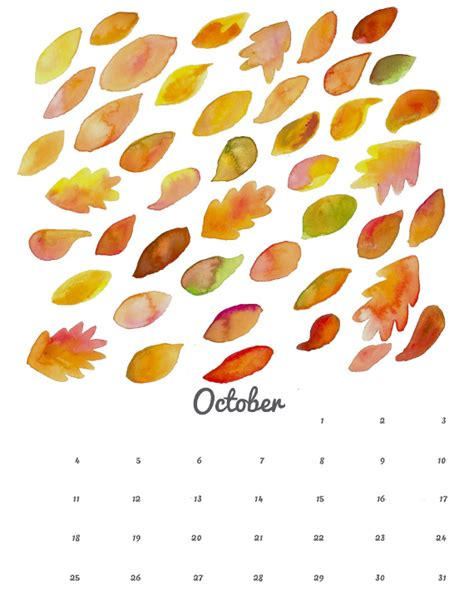 october crafts for october printable calendar and wallpaper think crafts by