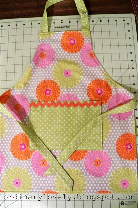 pattern for making an apron out of a man s shirt ordinary lovely toddler apron tutorial