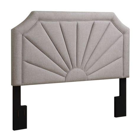 pri fabric upholstered fan panel headboard in hayden
