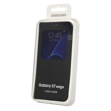 Flip Cover S View Samsung S7 S7 Edge Auto Lock Sleep Wallet samsung galaxy s7 edge s view cover flip retrons