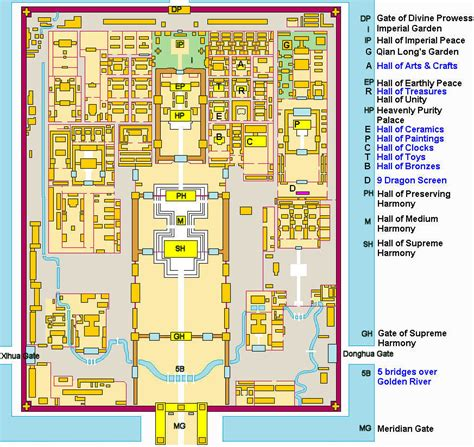 layout plan in chinese layout of the forbidden city trance siberian trainwreck