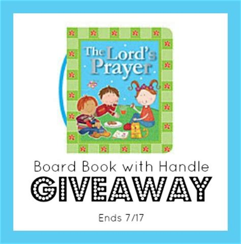 The Lord S Prayer Board Book the lord s prayer board book review giveaway raising whasians