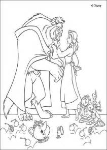 and the beast coloring pages and the beast coloring pages hellokids