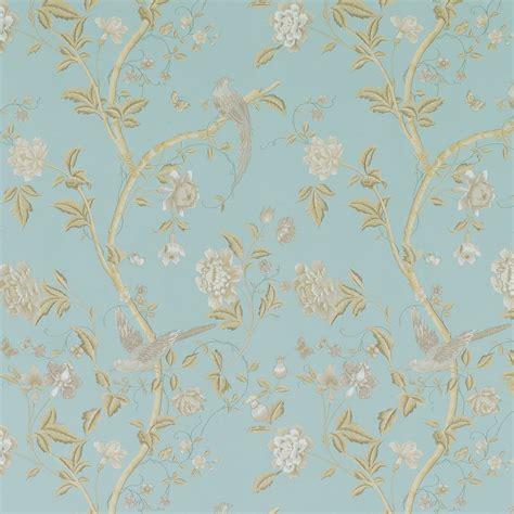 flower wallpaper laura ashley summer palace powder blue floral wallpaper laura ashley