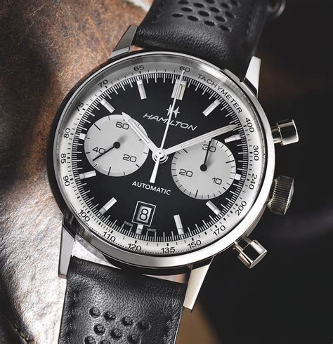 hamilton re releases its bi compax military chrono hamilton intra matic 68 watch swiss classic watches
