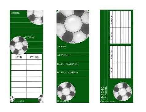 printable bookmarks soccer 16 best soccer images on pinterest