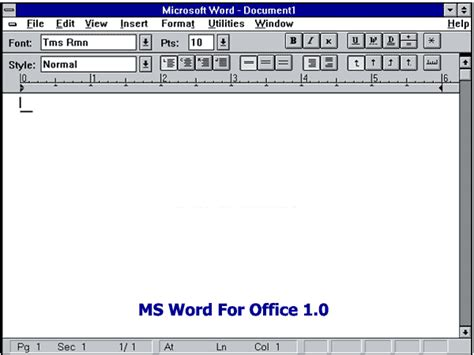 Microsoft Office Original Bhinneka history evolution of microsoft office software