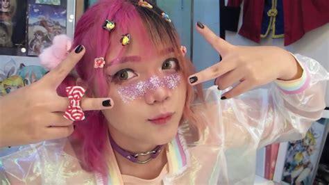 Mascara Harajuku Harajuku Makeup Glitter Freckles Bahasa Indonesia