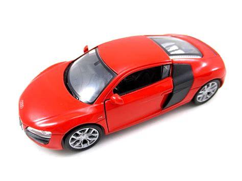 audi r8 v10 rosso modellino auto metallo 1 34 diecast welly nex modello ebay
