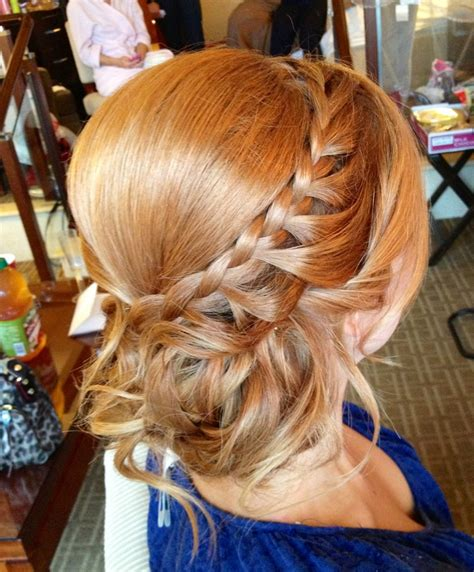 pageant buns braided side bun prom hairstyles ideas pinterest