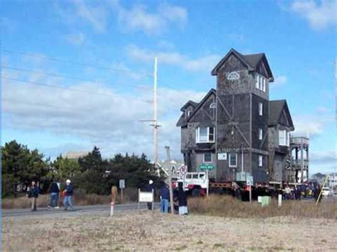 serendipity house nc rodanthe house serendipity continues its move down nc hwy 12 video by surf or sound