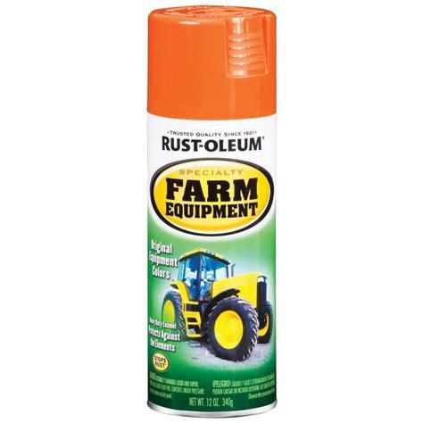 shop rust oleum specialty orange enamel spray paint actual net contents 12 oz at lowes