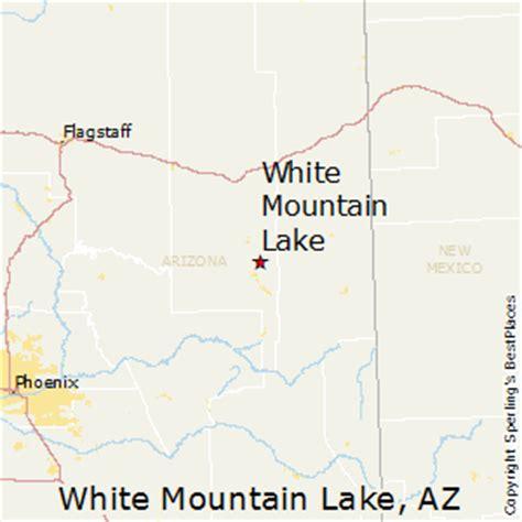 white mountains arizona map best places to live in white mountain lake arizona