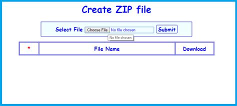 php tutorial zip download how to create download file and to create zip file in php