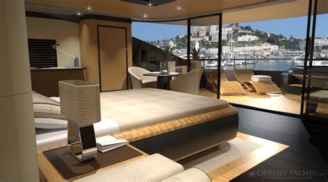 Part of the article motor yacht veloce by odyssey yacht design