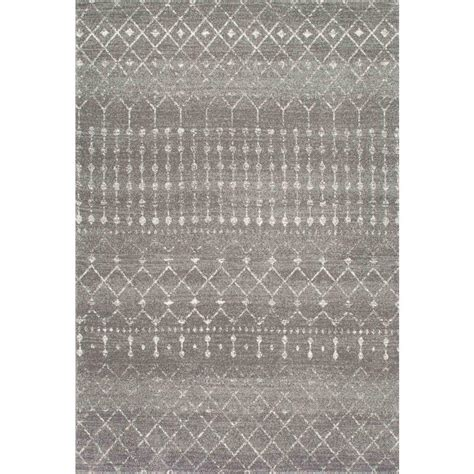 8 x 10 grey area rug blythe grey 8 ft x 10 ft area rug rzbd16b 8010 the home depot