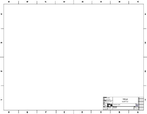 landscape templates for autocad ansi templates freecad documentation