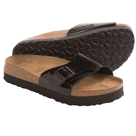 birkenstock platform sandals birki s by birkenstock platform sandals patent