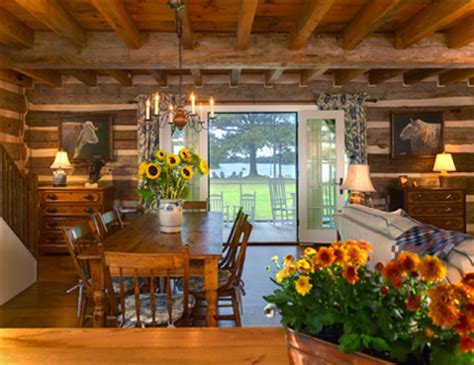 eye for design decorating your log home