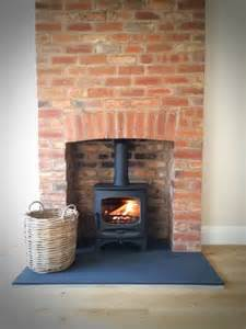 charnwood c five riven slate hearth brick fireplace jpg