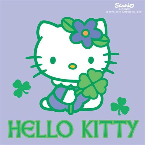 hello kitty coloring pages st patrick s day hello kitty st patricks day www imgkid com the image